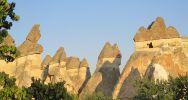 Village montagnard de Schtroumpfs en Cappadoce | Anatolie, Turquie | Photo : LP