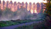 Quand le soleil vient enflammer le canal | Photo : VL